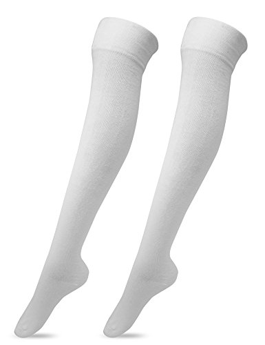 Women's Over The Knee High Socks 2 Pairs (Football Game Sexy)