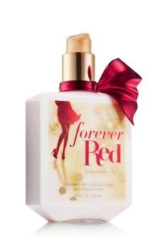 Bath and Body Works Forever Red Perfumed Body Lotion 10 Ounce Full Size Retired Fragrance