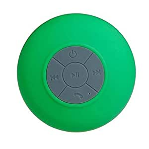 Mini Waterproof Shower Adsorption Style Bluetooth Speaker w/ MIC for iPhone 6 iPhone 6 Plus (Assorted Colors) , Green