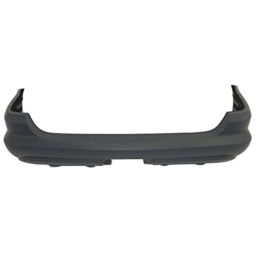 Titanium Plus 2002-2003 Mercedes-Benz ML320 | 2003-2005 Mercedes-Benz ML350 Rear Bumper Cover WITHOUT PARK DISTANCE CONTROL (Mercedes Benz Bumper Cover)