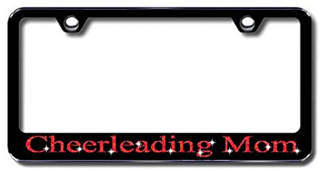 Jeep Stainless Steel license plate frame W Swarovski Crystals