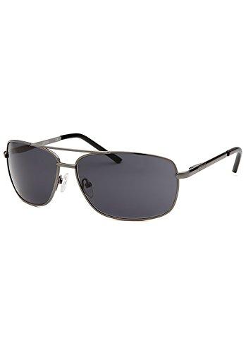 Kenneth Cole Reaction Kcr1076-0731 Men's Aviator Gunmetal - Cole Kenneth Sunglasses