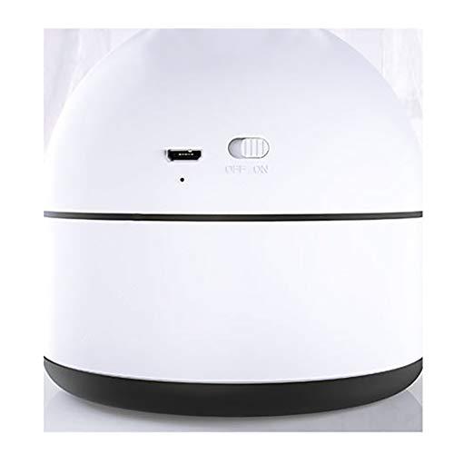 JiaMeng Pequeño Ventilador Eléctrico con Operación Ultra Silenciosa Aire Acondicionado portátil Fan Spray humidificación Ventilador y humidificador de ...