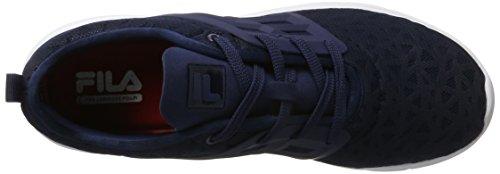 Fila Men Base Powerbolt 2 Low - Zapatillas de casa Hombre Azul (Dress Blue)