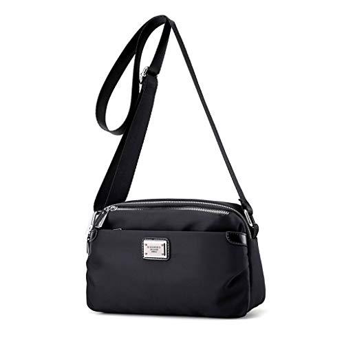 Bag Mode CHENGYI Crossbody réglable Casual Noir Voyage Mesdames Messenger Sacs Satchel épaule qwq1fISt