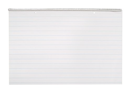 16 Chart - School Smart Lined Chart Tablet - 1 inch Rule - 24 x 16 inches - 25 sheet Pad