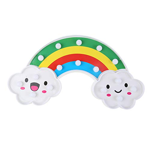Fan-Ling Decorative Party LED Cute Children's Bedroom Cloud Night Light Christmas Party -
