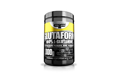 Primaforce, Glutaform 100% L-Glutamine Powder, Unflavored, 1000 Gram