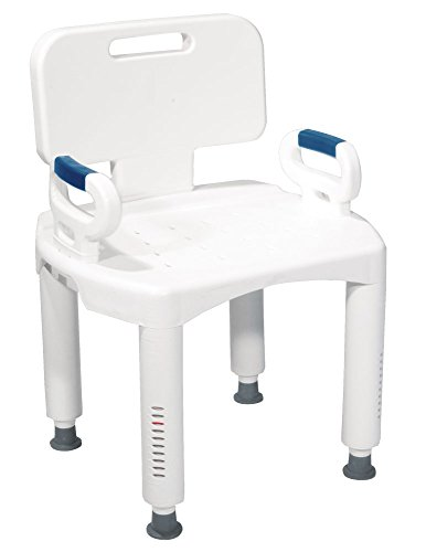 Drive Medical Premium Series Shower Chair with Back and - I Outlets Premium Drive