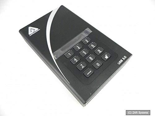 (Apricorn ADT-3PL256-4000 4TB Aegis Padlock DT Secure USB 3.0 256-Bit AES Hardware Desktop Drive)
