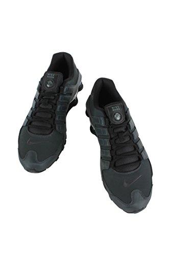 536184-003 Uomini Shox Nz Prm Nike Antracite / Nero-nero-cool Gr
