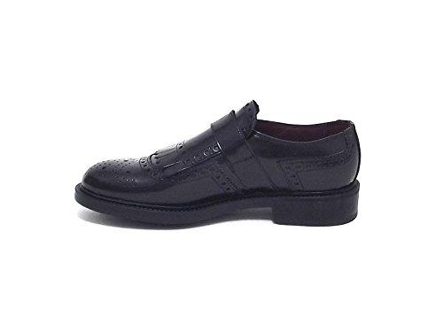 Soldini Zapatos de Cordones de Piel Para Hombre Negro Negro Negro Size: 46 WjZDg