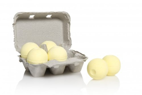 Level Naturals Six-Pack of Ultra Luxe Spa Bath Bombs (Lemon Ginger) ()
