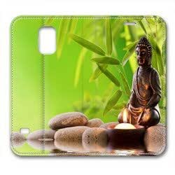 Samsung Galaxy S5 Case,The Lord Buddha shines Samsung Galaxy S5 Cases,Samsung Galaxy S5 High-grade leather Cases