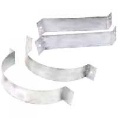 American Metal 6HS-SBA 6'' Inch 3 Wall Support Brackets For Chimney Pipe