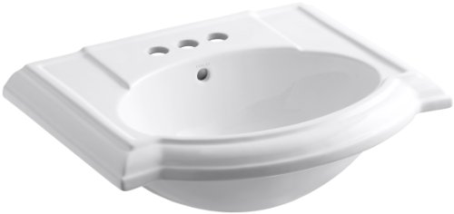 KOHLER K-2287-4-0 Devonshire Bathroom Sink Basin with 4