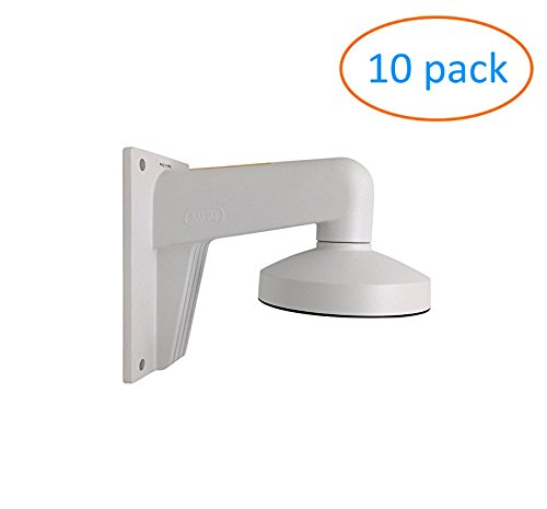 WMS WML PC135 DS-1273ZJ-135 Wall Mounting Bracket for Hikvision Dome Camera - 10 Pack by Kenuco
