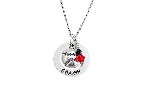 Amazon.com: Coach Hand Stamped Necklace with Silver