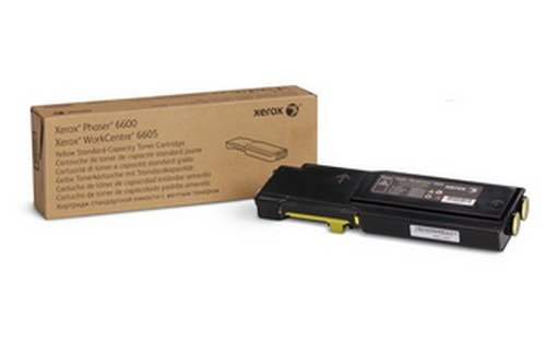STD CAP TONER CARTRIDGE YELLOW 6600/6605