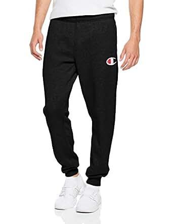 Champion Men's C Logo Cuff Pant Black