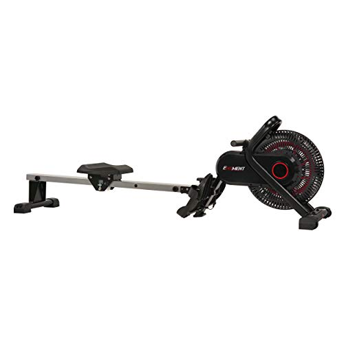 EFITMENT Aero Air Fan Rowing Machine Rower w/Monitor – RW036