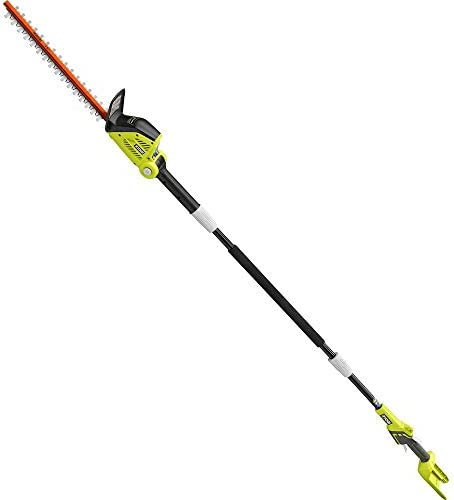 RYOBI RY40603BTL 18 in. 40-Volt Lithium-Ion Cordless Pole Hedge Trimmer Tool-Only