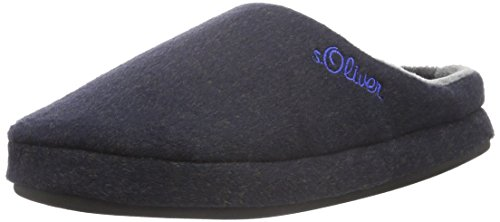 s.Oliver Herren 17302 Pantoffeln, Blau (Navy 805), 43 EU