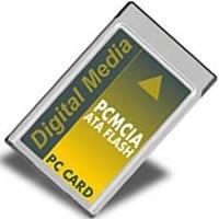 64MB ATA Flash PC Card (PCMCIA) (BWK)-Flash Memory
