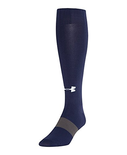 Under Armour Kids' UA Soccer Over-The-Calf Socks Youth Large Midnight Navy