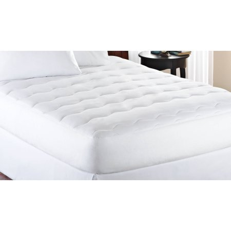 Mainstays Hypoallergenic Extra Thick 1'' Mattress Pad, White (Twin)