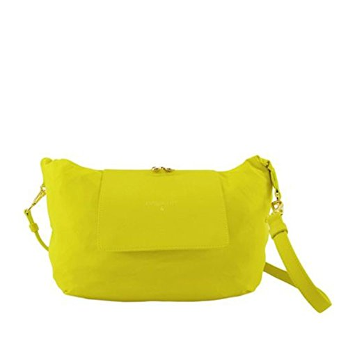 Borsa mini Shopping Patrizia Pepe richiudibile in pochette - Giallo