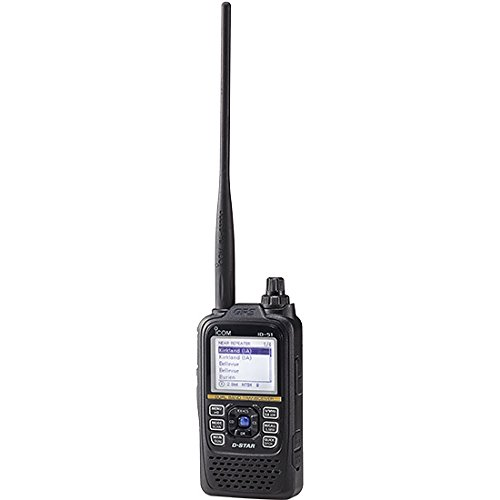 [해외]Icom ID-51A Plus2 VHF UHF 휴대용 디지털 D-STAR 트랜시버 - 5.5W 최대 - 검정/Icom ID-51A Plus2 VHF UHF Portable Digital D-STAR Transceiver - 5.5W Max - Black