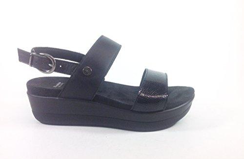 Imac - Sandalias de vestir de Piel para mujer multicolor multicolor 35 negro