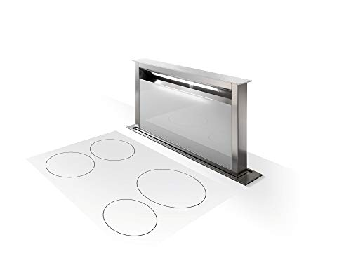 Downdraft Steel Ventilation Stainless (Faber SCLX3015SSNB-B Scirocco Lux 30 Inch Wide Downdraft Range Hood)