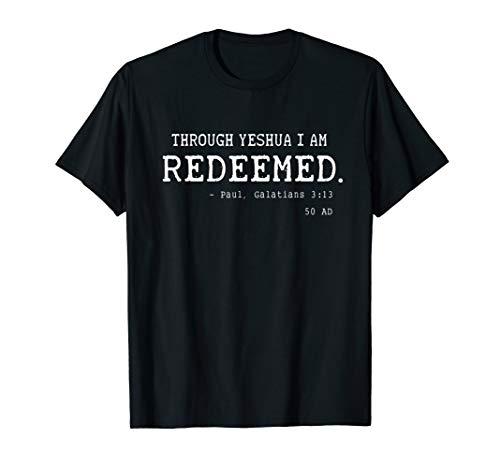 Redeemed Hebrew Roots Movement T-Shirt Yeshua Torah Israel