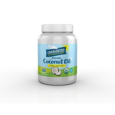 Pack of 6 - Carrington Farms Virgin Unrefined Coconut Oil, 54.0 FL OZ by Carrington Farms (Image #2)