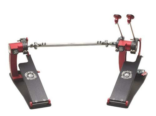 - Trick Drums Pro 1-V Bigfoot Double Pedal - Black Widow Edition