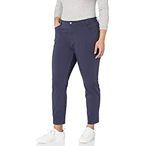 Dickies Women's Relaxed Straight Stretch Twill Pant