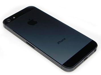 Carcasa Trasera iPhone 5 Negra: Amazon.es: Electrónica