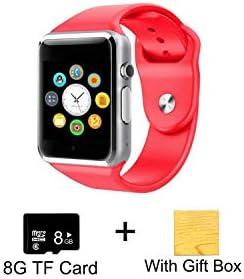 Amazon.com: Reloj inteligente A1 reloj de pulsera cámara SIM ...