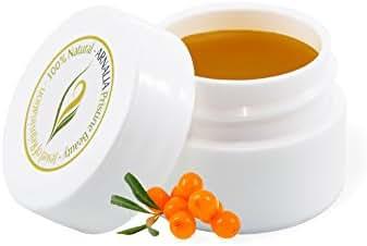 ARNALIA 100% Natural Organic Wild Herbs, Eye&Face Cosmetic Skin Care Cream, Emollient, Anti Wrinkle, Anti Aging, Age Spot, Firming, Hydrating Balm, Collagen, Vitamin A,C,E,F Moisturizer, SPF 0.3 oz