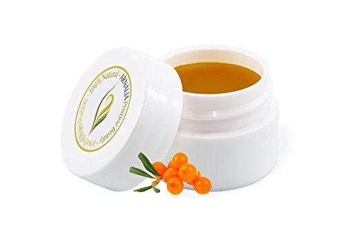 ARNALIA 100% Natural & Organic Wild Herbs, Eye & Face Cosmetic Skin Care Cream, Emollient, Anti Wrinkle, Anti Aging, Age Spot, Firming, Hydrating Balm, Collagen, Vitamin A,C,E,F Moisturizer, SPF 0.3oz