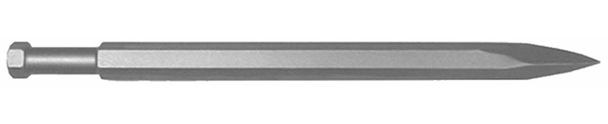 Champion Chisel, Hilti 805/905 Style Shank - 7/8-Inch Hex Steel, 19-Inch Long Moil or Bull Point. Designed for use in the following TE models - 1000-AVR, 1500-AVR, 805, 905, 905-AVR, 906-AVR.