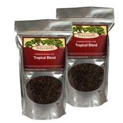 Bonsai Tree Soil: Tropical Blend - Four Quarts from BonsaiOutlet - Pruning Ficus Tree