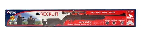 (Crosman Recruit Adjustable Stock Air Rifle .177 Cal RCT525X)