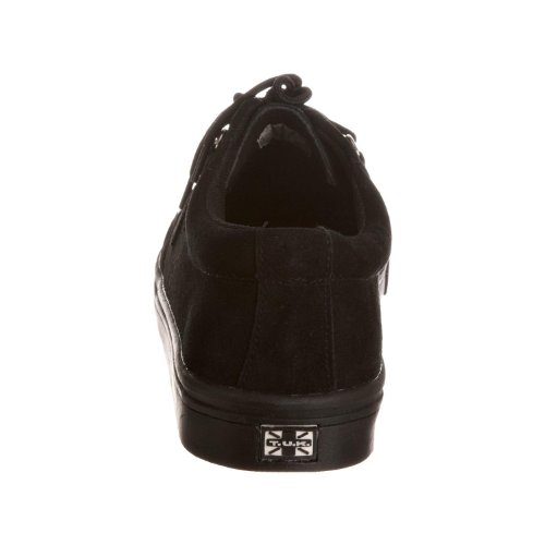 TUK A6061 Black Suede Frauen der neuen Männer Unisex Creepers Schuhe Boots Sneaker