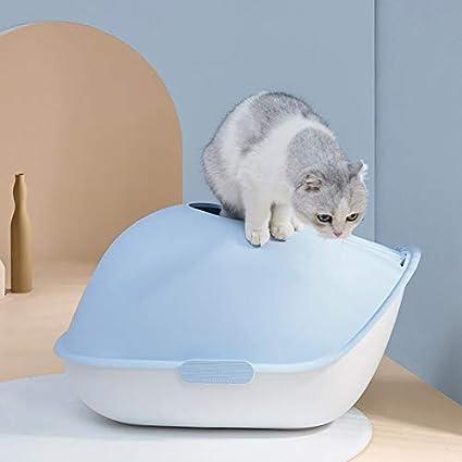 Inodoro para Gatos, Cacerola para Gatos Tipo De Cubierta Extra ...