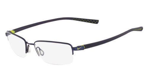 Nike Eyeglasses 4214 004 St Blk/Blk Demo 55 18