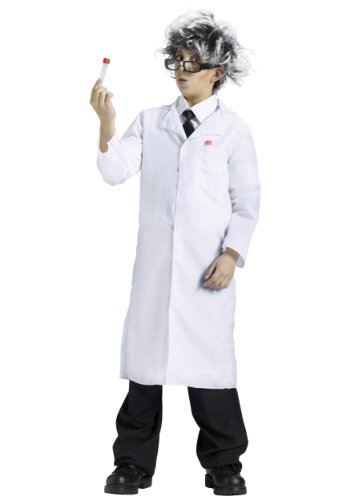 Fun World Lab Coat X-Large (14-16) (Scientist Glasses)