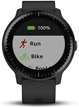 Garmin vívoactive 3 Music, GPS Smartwatch with Music Storage, Supports Spotify – Black (Renewed)